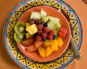 a bright and vibrant breakfast at Four Kachinas