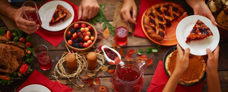Santa Fe Thanksgiving dinner