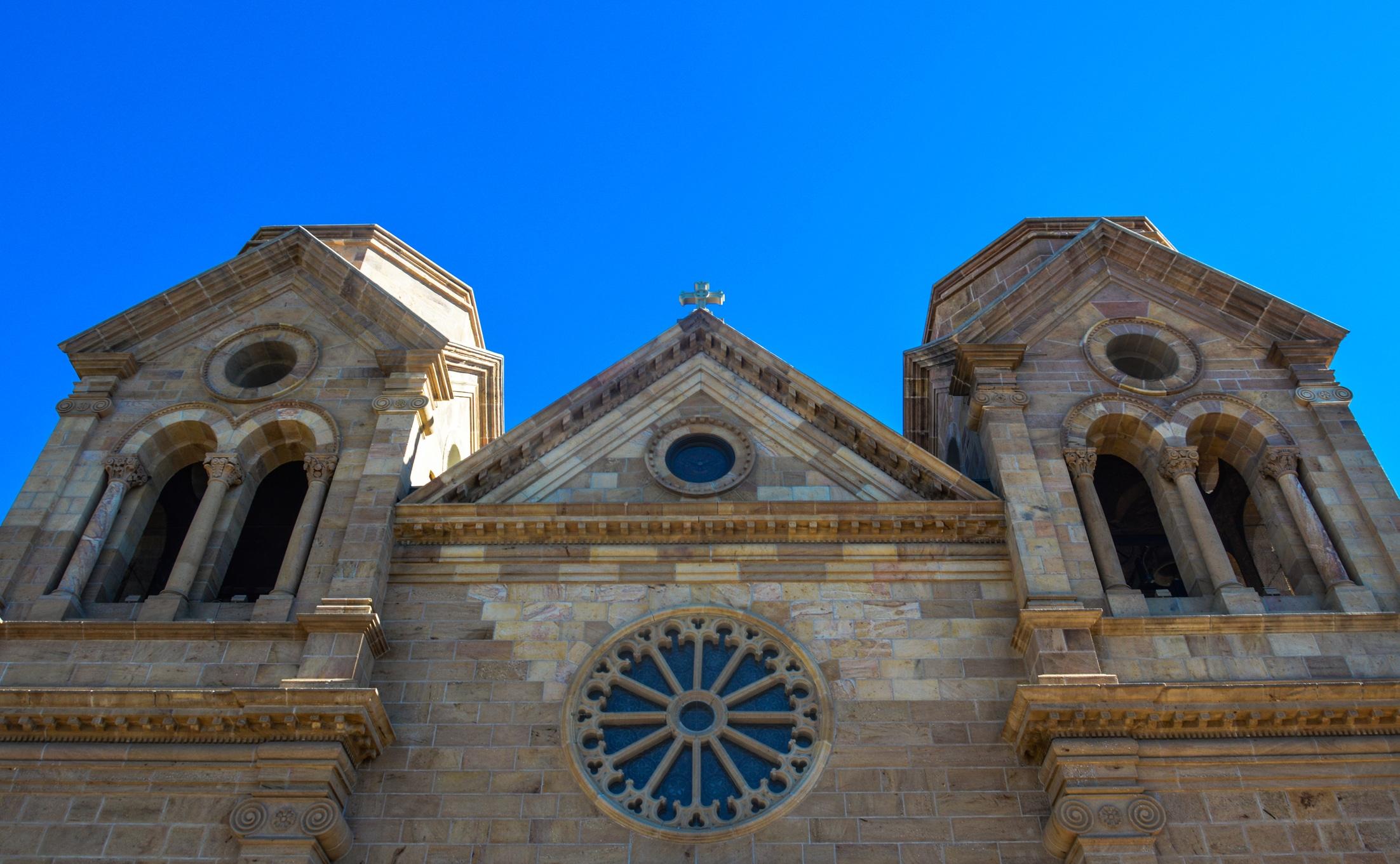 Santa Fe, New Mexico - St. Francis Cathedral Exterior