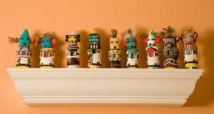 Four Kachinas Room decorations