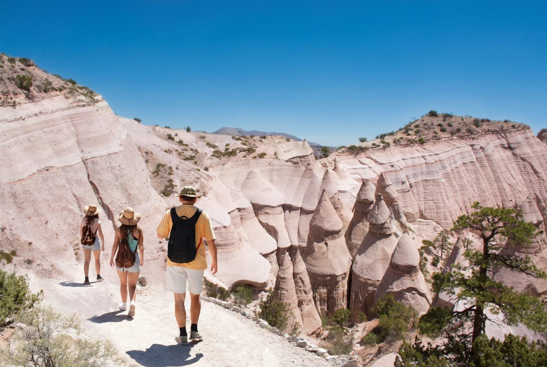 walking tour santa fe