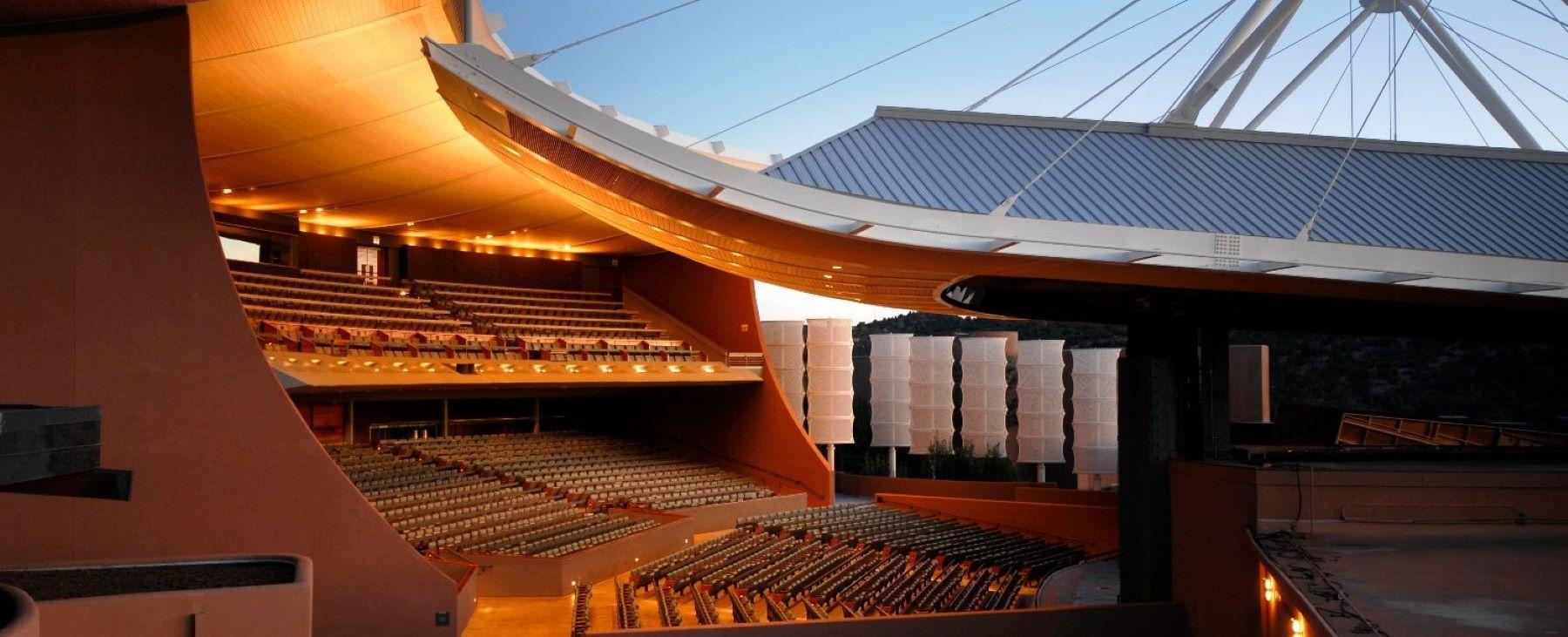 the Santa Fe Opera House