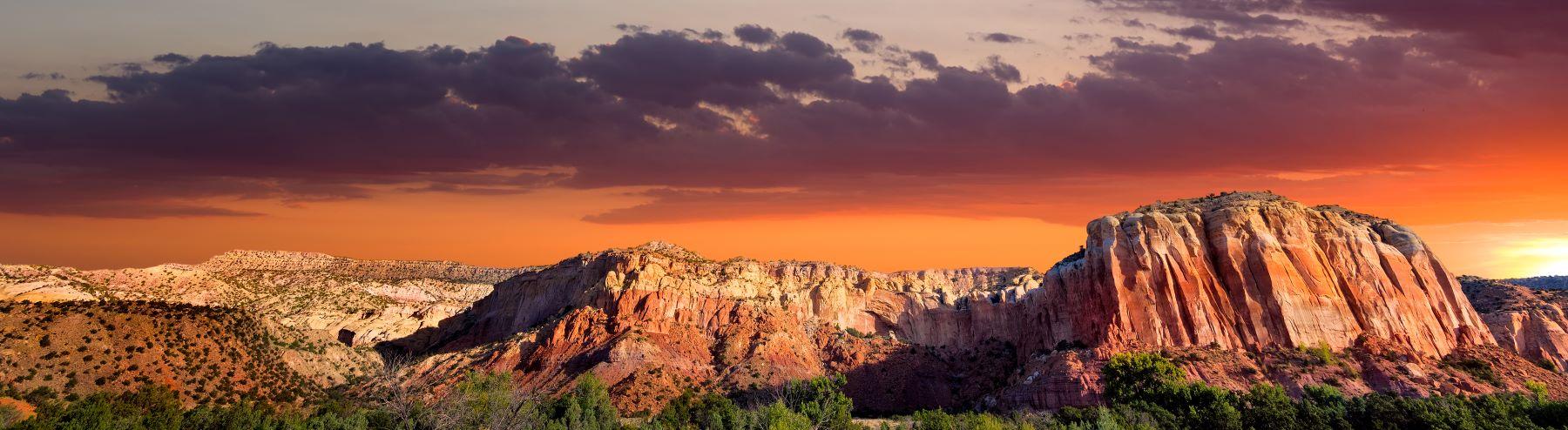 Ghost Ranch near Santa Fe, New Mexico