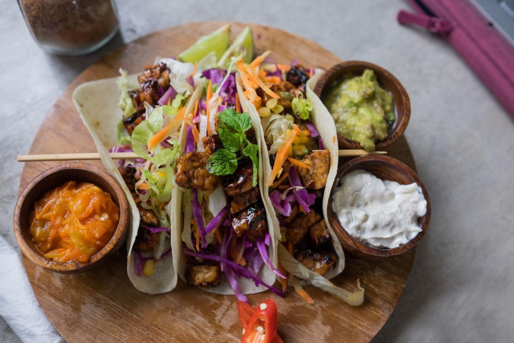 vegan tacos at restaurants